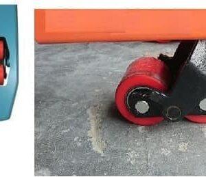 bánh xe nâng tay PU70x60mm