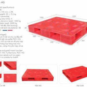 pallet nhựa mới pl01-hg