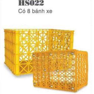 sóng nhựa công nghiệp HS022