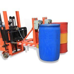 Bộ kẹp phuy đôi 4 mỏ kẹp nâng 2 thùng phuy 1000kg